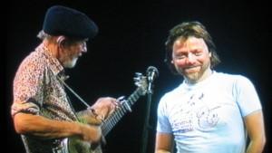 Pete Seeger and Lillebjørn Nilsen