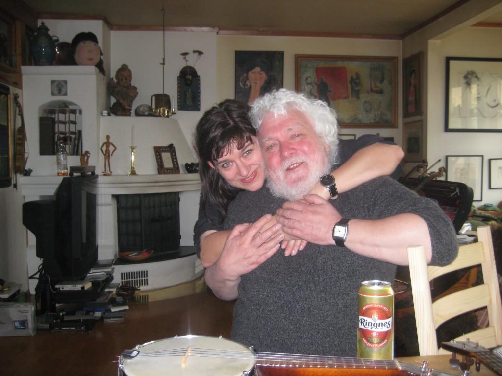 Torhild Ostad og Tony Sheehan - to folkesangere