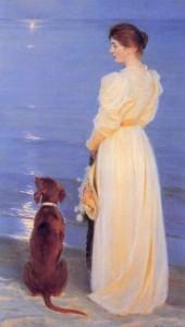 """""""Sommeraften ved Skagen"""" P. S. Krøyer"""