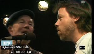 Pete Seeger og Lillebjørn Nilsen