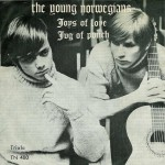 The Young Norwegians single plate 1966
