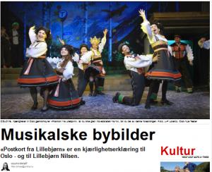 Dagbladet 09.03.2012 Postkort fra Lillebjørn