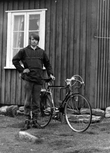 Lillebjørn Nilsen sykkel i Valdress