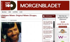 Morgenbladet kårer de 100 beste norske album
