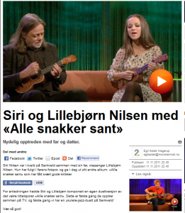 Lillebjørn Nilsen og Siri Nilsen