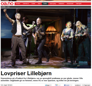 Lovpriser Lillebjørn - Oppland Arbeiderblad